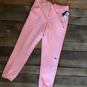 Pink Champion Sweatpants NWT